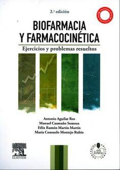 Biofarmacia y farmacocinética: ejercicios y problemas resueltos. 2ª ed. Madrid: Elsevier; 2014. http://www.studentconsult.es/bookportal/biofarmacia-farmacocinetica-2/aguilar/obra/9788490222607/500/5059.html