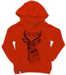 Mini & Maximus Pullover Hoodie, oh deer