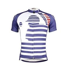 Paladin Mens Cycling Shirts Short Sleeve Baseball Stripe Pattern Bike Jerseys Size XXXL * To view further for this item, visit the image link. (Note:Amazon affiliate link)