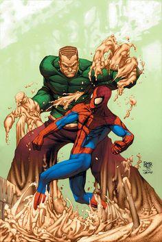 """marvel comics: """" sandman """" (hombre de arena) kevinstone_12 ...... !!!!"""