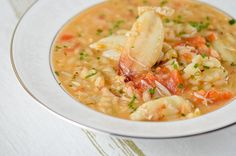 Crab Risotto - a special recipe fit for Valentine's Day.