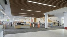 Brambleton Library | HGA; Photo: Paúl Rivera | Archinect Group Study, Loudoun County, Experiential Learning, Study Rooms, Employment Opportunities, Cozy Nook, Library Design, Learning Spaces, World Class