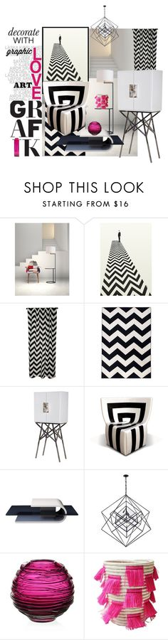 """""""I Love"""" by zappa ❤ liked on Polyvore featuring interior, interiors, interior design, home, home decor, interior decorating, Zuo, Elisabeth Michael, Dot & Bo and Kelly Wearstler"""
