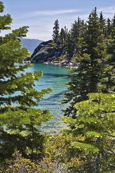 Emerald Bay, Lake Tahoe - California. Where we got married. Beautiful!!