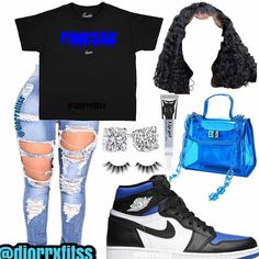 Baddie Outfits Casual, Boujee Outfits, Swag Outfits For Girls, Cute Swag Outfits, Cute Comfy Outfits, Girls Fashion Clothes, Curvy Outfits, Teenager Outfits, Teen Fashion Outfits