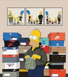 Shut Up and Take My Money ||  by @machonis  __________________________________  #thesimpsons #simpsons #homer #sneaker #sneakers #sneakerhead #sneakerheads #kicks #sole #footwear #instacool #instagood #instagram #instalike #instasize #instadaily #dope #fresh #comic by blkvis http://ift.tt/1qMmBCe