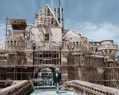 Disneyland: Under construction