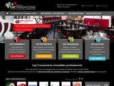 Cap Transactions est une agence immobilière en Bretagne spécialisée dans les produits pour entreprises