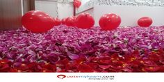 Best Romantic Room Decoration ideas for an unforgettable evening. Surprise your partner with our exciting romantic room decor & set up just for you two. Romantic Room Decoration, Romantic Bedroom Decor, Event Management, Balloon Decorations, Balloons, Just For You, Ideas, Globes, Balloon
