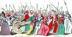 Pin for Later: How Women Have Protested Through History Women's March on Versailles, 1789