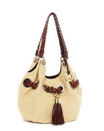 Michael Kors Large Grommet Shoulder Bag