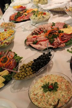 Polish food feast. That's how it gets during holidays and parties. Yummyyyyy