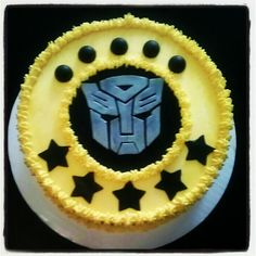 Transformers Cake #AllForCake