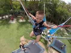 Trampoline fun! Photo by Dino Beslagic of son Adennis.