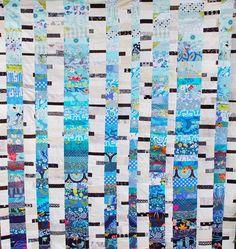 Beauty in the Bark - love this quilt by Scott Hansen! By Scott Hanson... brilliant!