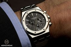 SIHH 2012 – the new Audemars Piguet Royal Oak Chronograph - Monochrome Watches