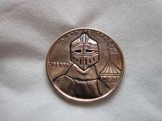 1935 Wheat Penny Love Token Hobo Nickel Art Coin Knight Renaissance LARP SCA | eBay