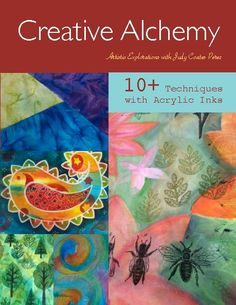 Click to preview Creative Alchemy, 10+ Techniques with Acrylic Inks magazine