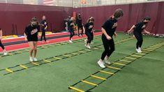 Training Exercises, Speed Training, Sports Training, Gym Workout Videos, Track Workout, Gym Workouts, Softball Drills, Volleyball, Soccer Jokes