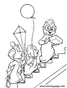Print Alvin And The Chipmunks S For Kids0a80 Coloring Pages