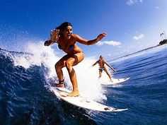 Surfer Girls RP by Splashtablet the suction-mount, waterproof iPad, tablet, smartphone case.