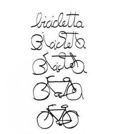 veleco:    Cycling is beautiful in any language!