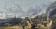 Cornelis de Man - De traankokerij van de Amsterdamse kamer van de Noordse Compagnie op Smerenburg - Svalbard