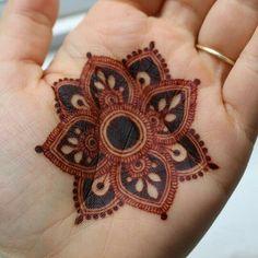 Henna Tattoo Designs, Henna Tattoos, Mandala Tattoo Design, Basic Mehndi Designs, Modern Henna Designs, Mehndi Designs For Girls, Mehndi Designs For Beginners, Dulhan Mehndi Designs, Mehndi Design Pictures