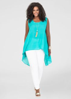 Shop women's plus size tops, plus size shirts, sexy sequin tops & Trendy Sweaters. Find plus size tops from dressy to crops, all fit to flatter curves! Best Plus Size Clothing, Plus Size Fashion Tips, Plus Size Shirts, Plus Size Tops, Plus Size Women, Plus Size Outfits, Plus Fashion, Curvy Girl Fashion, Look Fashion
