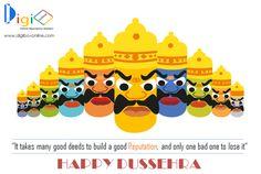 The festival of Dussehra reminds us that Good always prevails over evil! Digibox Online team wishes HappyDussehra to all! #HappyDussehra #HappyDussehra2016 #VijayDashmi #Ravana #Dussehra2016 #Victory