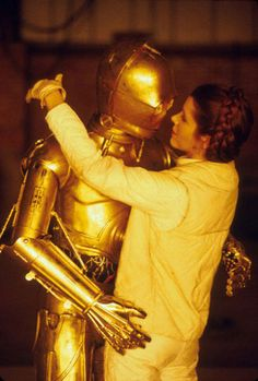 Star Wars: Is there anyone she didn't kiss?