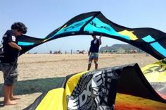Kitesurfing Poetto Cagliari, Sardinia | Kite spot for all levels | Kitesurfing Lessons and Kite Services by KiteGeneration Kite school | Kite Poetto Beach