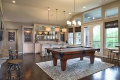 Toll Brothers - Game Room