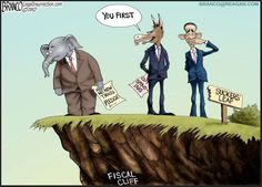Who will take the first plunge off #fiscalcliff ? #tcot