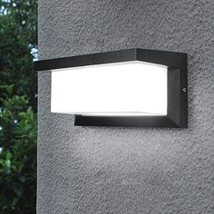 Shinbeam Outdoor Wall Pack Lights Led Wall Sconces Waterproof Lighting Fixture Dimmable Wall Fixture Warm White Cold White and Nature White Color(Black) Fence Lighting, Outdoor Wall Lighting, Outdoor Walls, Exterior Light Fixtures, Exterior Lighting, Porch Wall Lights, Outdoor Post Lights, Modern Wall Sconces, Outdoor Sconces