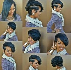 #HairTransformationTuesdays #Shortcut #BatonRougeStylist #MayvennHair #BundleItUp #TisTheSeason #ToBuybundles tiffanymoore.mayvenn.com