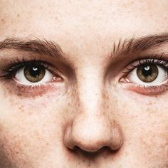 Eyes woman young beautiful freckles woman face portrait with healthy skin. Women With Freckles, Eye Twitching, Beautiful Freckles, Gray Eyes, Eye Photography, Grunge Hair, Pretty Eyes, Young And Beautiful, Human Body