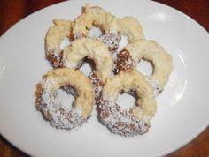 Věnečky z kokosu Bagel, Christmas Cookies, Advent, Bread, Food, Cake, Meal, Brot, Eten