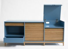 TAPPARELLE Sideboard by Colé Italian Design Label design Emmanuel Gallina. Tambour doors. #Feb2016