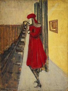 mark rothko - Untitled [Woman in Subway Station] 1936