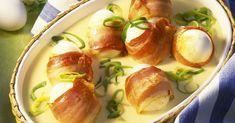 Bacon-Eier mit Senfsauce ist ein Rezept mit frischen Zutaten aus der Kategorie Eier. Probieren Sie dieses und weitere Rezepte von EAT SMARTER!