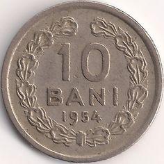 Wertseite: Münze-Europa-Südosteuropa-Rumänien-Leu-0.10-1952-1956