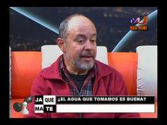 """Entrevista al Dr. Enrique Richard sobre el agua """"potable"""" y sus contamin..."""