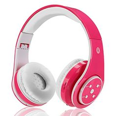 Votones-Wireless Bluetooth Kids Headphones Lightweight Foldable Adjustable Over Ear Earphone with Microphone Aux in SD Card FM for Smartphone PC Tablet(Pink)  http://topcellulardeals.com/product/votones-wireless-bluetooth-kids-headphones-lightweight-foldable-adjustable-over-ear-earphone-with-microphone-aux-in-sd-card-fm-for-smartphone-pc-tabletpink/  ●COMFORTABLE WEARING WITH LIGHTWEIGHT AND ADJUSTABLE HEADPHONE DESIGN:Comfortable to wear with soft ear cushion and headband,