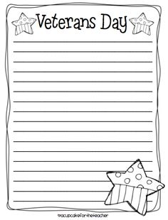 Free Printable Writing Paper To Thank Military MembersThank You