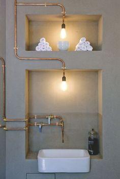Industrielle Steampunk 5 Ampoule E27 Lumi¨re Wall Mount Lampe Loft 3