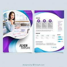 Free Business Flyer Templates Lovely Template Line Vectors S and Psd Files Free Psd Flyer Templates, Business Flyer Templates, Flyer Free, Creative Brochure, Brochure Design, Flyer Printing, Printing Services, Modele Flyer, Corporate Flyer