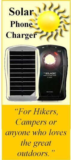 Never be caught without power again in the great outdoors. The Soladec is a versatile all-in-one hybrid solar powered charger that allows you to charge many of your USB powered portable electronic devices.