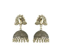 Waama Jewels Golden Pearl Golden Plated Jhumki Earring For Party wear Christmas Gift New Year Gift - Waama Jewels Earring