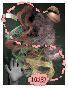 Tim Berresheim // Heard-but-never-seen-I // Kunst & Denker Contemporary Contemporary Artists, Hair Styles, Art, Hair Looks, Hair Cuts, Hairdos, Updos, Hair Cut, Haircut Styles